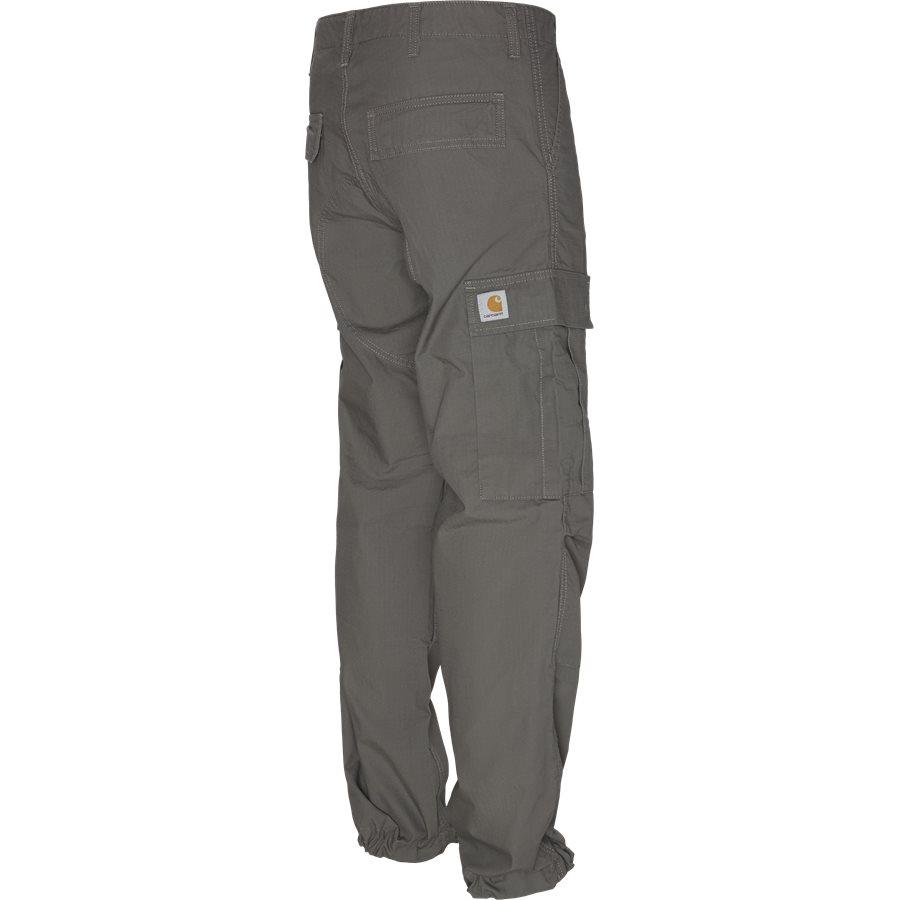 REGULAR CARGO PANT-I015875 - Cargo Pants - Bukser - Regular - AIR FORCE GREY RINSED - 3
